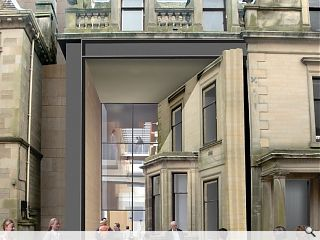 Dunfermline Museum & Art Gallery moves on site