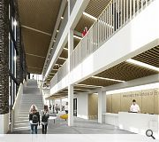 The School of Engineering will undertake a phased relocation to the new facilities
