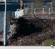 Broomielaw quay wall collapse leaves Council in a hole