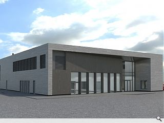 Girvan Leisure Centre goes in for planning