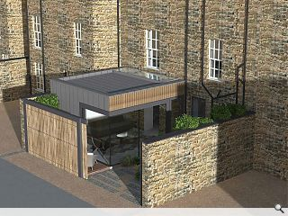 Office to residential trend continues with Edinburgh townhouse conversion
