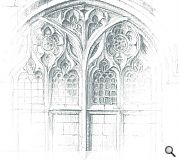 Ben Holmes was recognised with a highly commended award for 'Windows of Bath Abbey'