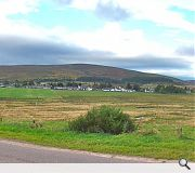 Tomintoul is the highest village in the Highlands