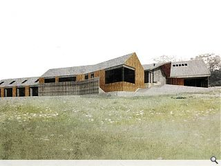 Construction gets underway on £1.4m Argyll artist centre