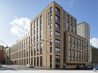 Glasgow's newest student flats in tune with the neighbours