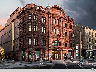 Radical reimagining to make Edinburgh's King's Theatre accessible to all