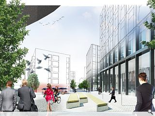 Keppie go back to the drawing board for Anderston Quay masterplan