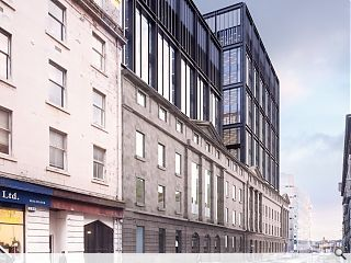 BAM break ground at Glasgow's Atlantic Square