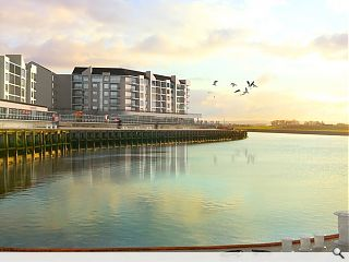 Clydebank's Queens Quay set for January start