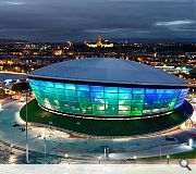 The Hydro is as big an attraction as the performances taking place within it