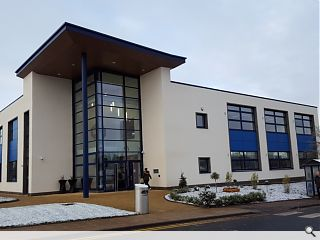 South Lanarkshire College low carbon teaching building opens