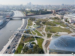 Moscow beats Aberdeen to the punch with new city park