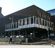 The brutalist structure had housed the Hive nightclub