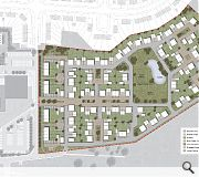 A variety of detached, semi-detached and terraced properties will be built