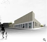 The scheme is being built on the site of vacant retail and industrial units