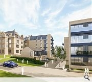 New build additions will be faced in a mixture of stone and brick
