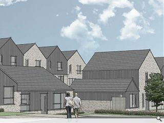 Brodick social housing push to deliver 34 homes