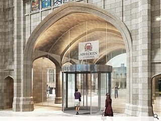 Marischal College revamp marshalls approvals
