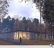 The landscape will be harnessed to create a calm and inspiring learning environment