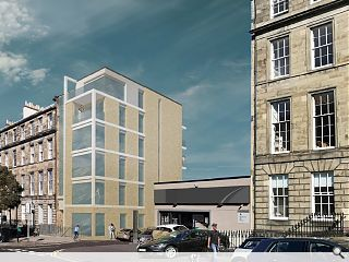 Hackland + Dore take their work home with New Town flats plan