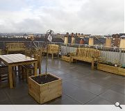 Residents will have access to two shared roof terraces
