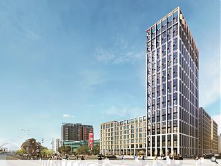 498-home Clydeside build to rent tower set for summer start