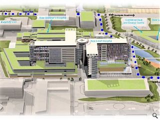 HLM appointed to Glasgow super hospital