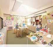 A dedicated art classroom will be among the facilities on offer