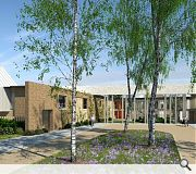 In addition to housing a care home will be provided