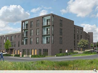 Hackland + Dore submit plans for 157 Edinburgh homes