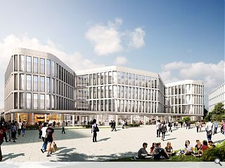 University of Glasgow campus masterplan waved through