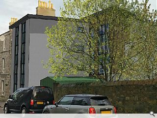 Torry garage apartment potential to be realised