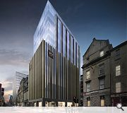 The revised design will bring enhanced scale to the city centre skyline