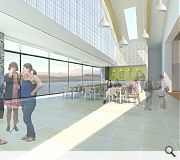 A raft of retail and leisure facilities will be offered by the hall