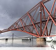 The £15m project would whisk people 110m above the River Forth