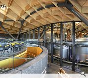 The Macallan Distillery and Visitor Experience, Craigellachie (£140 m) Rogers Stirk Harbour + Partners for Edrington