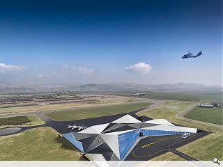 UK spaceport bid launched by Campbeltown Airport