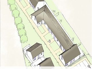 Ayrshire Housing submit plans for Dailly homes