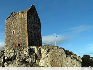 Smailholm Tower in line for turf roof
