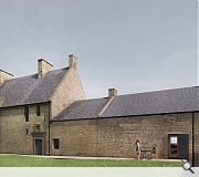 The Great Hall and tower will be re-roofed to protect surviving fabric from further decay