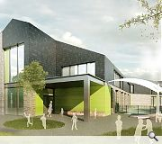 The new campus will be built on the site of the existing High School on the outskirts of town