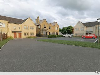 New neighbours set for Falkirk manor house