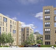 The scheme is extendable to adjoining streets which are also up for redevelopment