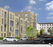 New street frontages will enliven the area