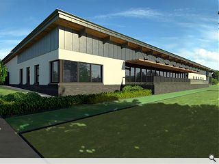 McLean Architects tee off East Kilbride club house