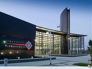 Strathclyde Fire & Rescue's Uaill Training Centre officially opened