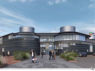 Greenock cruises ahead with Ocean Terminal visitor centre and gallery