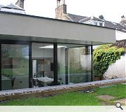 An existing conservatory and utility space was demolished to make way for the extension
