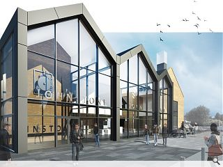Finalised Johnstone town hall plans published