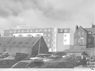 C-listed Aberdeen property to make way for student flats